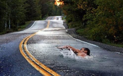 nadar contracorriente