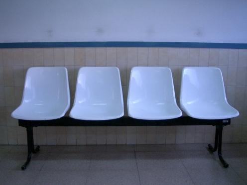 La sala d'espera